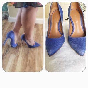 Aldo Cobalt Blue Stilettos 38